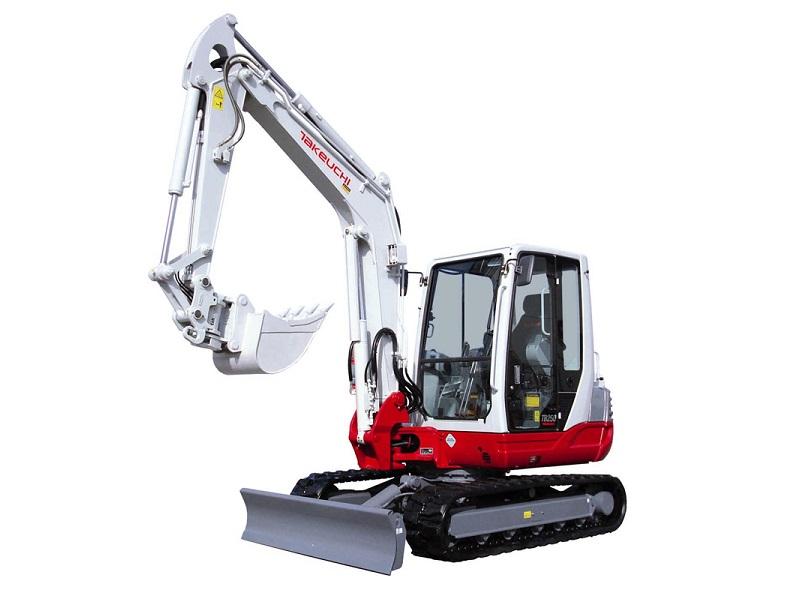 Bagger 4000 kg - 4999 kg