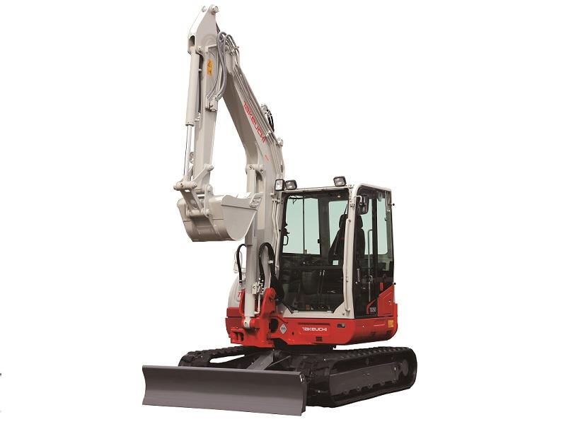 Bagger 5000 kg - 8000 kg