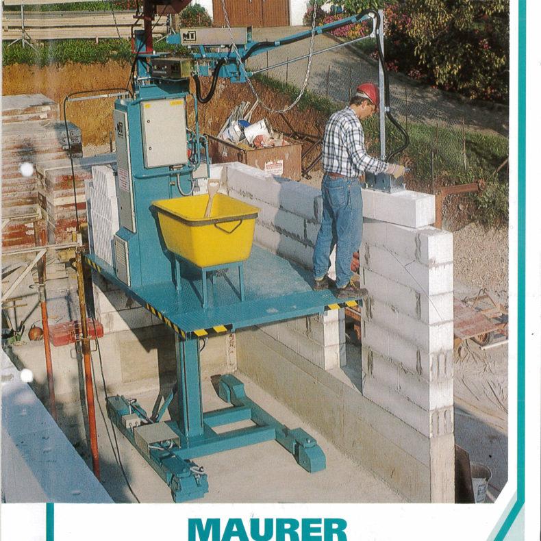 Modern Technik Maurerkran ME 1700/120